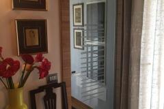 Porta FILO con vetro decorato